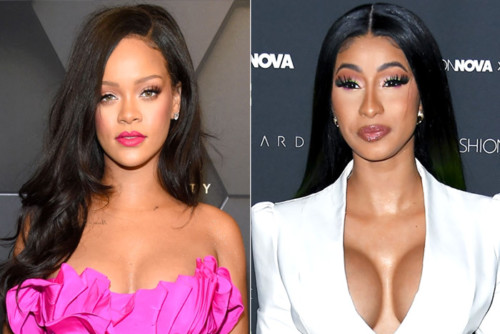 cardi-b-rihanna-500x334 Rihanna & Cardi B Call Out Trump After Mass Shootings!