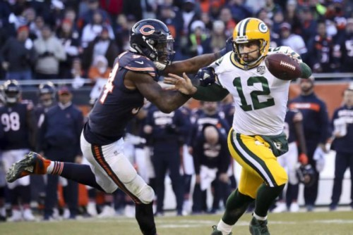Aaron-Rodgers-Bears-500x334 NFL100: Green Bay Packers vs. Chicago Bears (2019 NFL Opening Night) (Predictions)