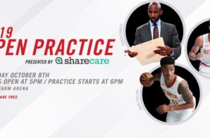 The Atlanta Hawks Will Hold Open Practice Presented by Sharecare at State Farm Arena On Tuesday, Oct. 8