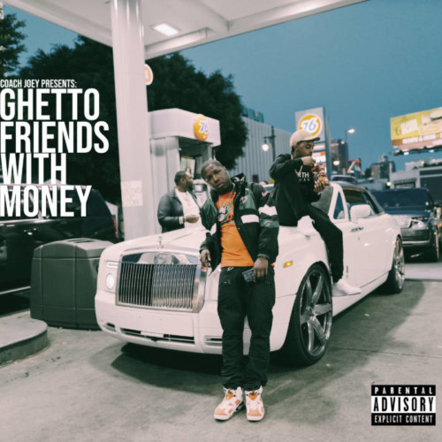 Ghetto-Friends-With-Money-front-cover-500x500 42 Dugg, IceWear Vezzo, Peezy & Coach Joey - Ghetto Friends With Money (Mixtape)