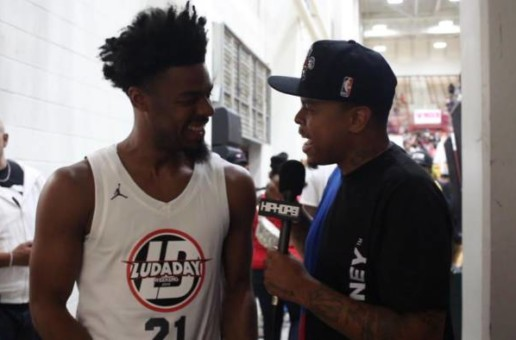 Los Angeles Lakers Star Quinn Cook Talks Wearing the Purple & Gold Playing For the Lakers & More (Video)
