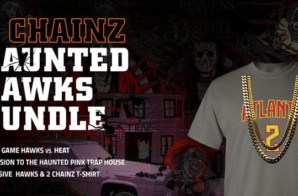 "Trick or Get Treated: The Atlanta Hawks Announce Collaboration With Grammy® Award-Winning Rapper For The ""2 Chainz Haunted Hawks Bundle"