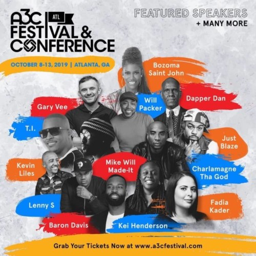 IMG_2505-2-500x500 Everyday a Star Is Born: 2019 A3C Kicks Off This Week in Atlanta; Enter To Win a Chance to Attend A3C (Oct. 8th-13th)