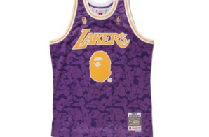BAPE Releases New Mitchell & Ness NBA Jerseys!