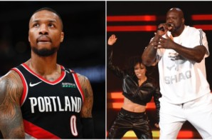 Dolla Dolla Bill Ya'll: Shaq Drops a Diss Record Toward Dame Lillard After Dame Says He Feels He Raps Better Than Shaq