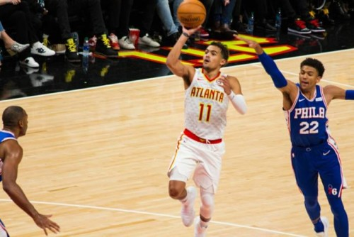 Trae-Young-cover-story-500x334 Growing Pains: Despite The Loss to the Sixers, the Atlanta Hawks & Hawks Fans Showed Up & Showed Out