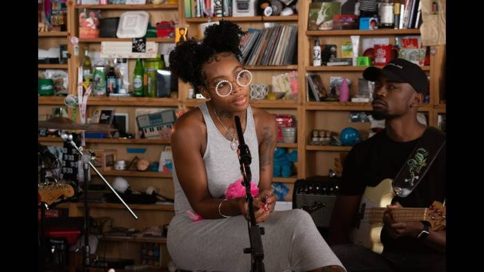 Summer Walker NPR Music Tiny Desk Concert