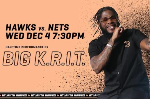 Southern Hip Hop Star Big K.R.I.T. Is Next Up To Headline Atlanta Hawks Peachtree Night on Dec. 4 vs. the Brooklyn Nets