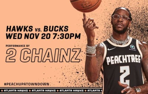 College Park Skyhawks Owner 2 Chainz Will Perform at the First Atlanta Hawks Peachtree Night on Nov. 20 vs. Milwaukee