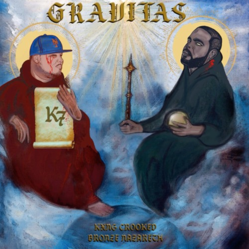 "Kxng Crooked & Bronze Nazareth Announce ""Gravitas LP"""