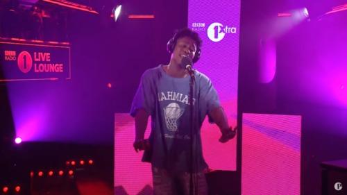 Lucky Daye Makes His BBC Radio 1Xtra Live Lounge Debut