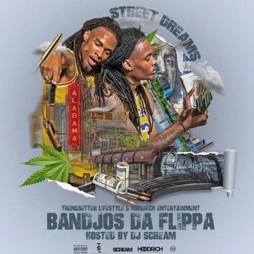Bandjos Da Flippa – Street Dreams (Hosted By DJ Scream) [Mixtape]