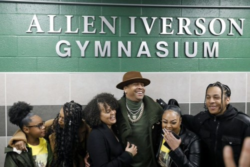 H9Rfch70-500x333 The Answer Gets Honored: Bethel High School Unveils Their New Allen Iverson Gymnasium