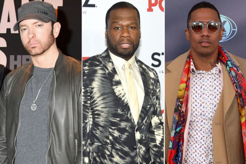 eminem-50-cent-nick-cannon-500x333 Eminem & 50 Cent Respond to Nick Cannon's Diss Record!
