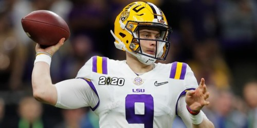 EON_yS6U0AAvdyO-500x250 Geaux Tigahs: Joe Burrow Leads The LSU Tigers To a (42-25) Victory in the 2020 CFB National Championship