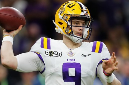 Geaux Tigahs: Joe Burrow Leads The LSU Tigers To a (42-25) Victory in the 2020 CFB National Championship