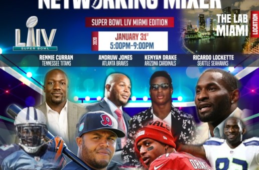 "Former NFL Player Rennie Curran Is Set To Host the Inaugural ""Super Bowl Sports & Business Mixer"""