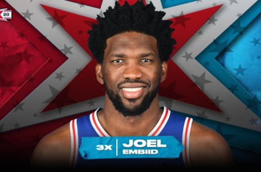 Star Of The Process: 76ers Star Joel Embiid Named as a 2020 Eastern Conference All-Star Starter