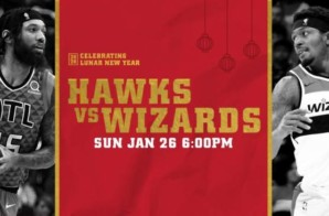 Enter To Win 2 Tickets To Bring in the Lunar New Year on Jan. 26th at State Farm Arena as Trae Young and the Atlanta Hawks host the Wizards