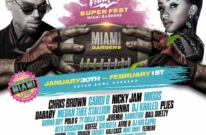 VEWTOPIA Music Festival Partners With SuperFest Miami Live For Superbowl LIV Weekend!