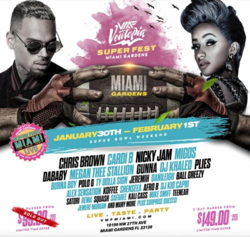 Screen-Shot-2020-01-23-at-12.45.58-AM-500x474 VEWTOPIA Music Festival Partners With SuperFest Miami Live For Superbowl LIV Weekend!