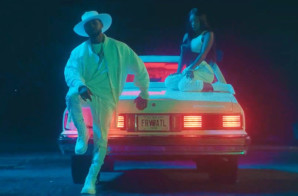 "Usher & Summer Walk Link Up For ""Come Thru"" Video!"