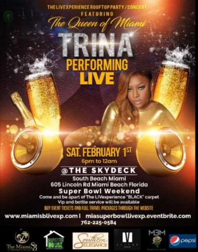 20191230_165336-393x500 Trina Performs at The Skydeck Rooftop Miami: LIVExperience (Super Bowl Weekend)