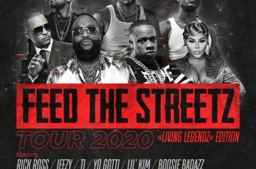 'Living Legendz' Set to Hit State Farm Arena in Atlanta to Kick Off the 'Feed the Streetz' Tour on Friday, April 24, 2020
