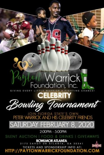 JjM8Mc3q-334x500 NFL Great Peter Warrick & His Wife Tabitha Warrick Are Set To host their Inaugural Celebrity Bowling Tournament
