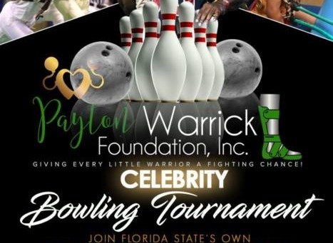 NFL Great Peter Warrick & His Wife Tabitha Warrick Are Set To host their Inaugural Celebrity Bowling Tournament