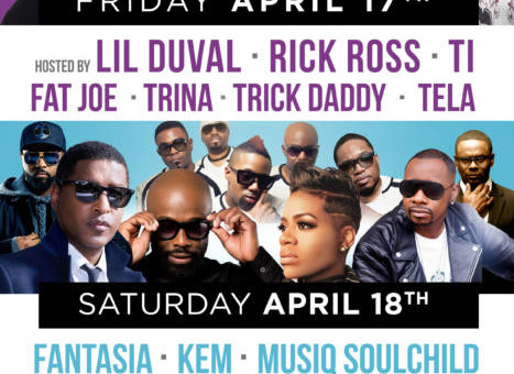Rick Ross, TI, Fat Joe, Trina, Musiq SoulChild & More to Headline Funk Fest Tour Kicking Off in Orlando!