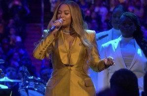 "Beyonce Opened ""A Celebration of Life: Remembering Kobe and Gianna Bryant"" Performing ""XO"" & ""Halo"" (Video)"