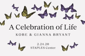 Tune Into TIDAL at 1PM ET For Celebration of Life of Kobe & Gianna Bryant Livestream!