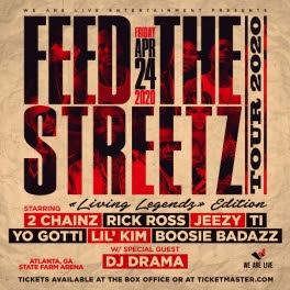 "unnamed-1-3 2 Chainz Added to the ""Feed the Streetz"" Tour Set to Hit State Farm Arena in Atlanta on Friday, April 24, 2020"