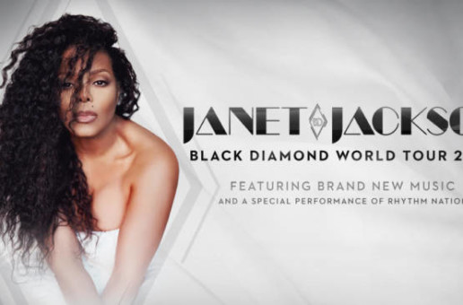 International Icon Janet Jackson Announces Black Diamond World Tour 2020
