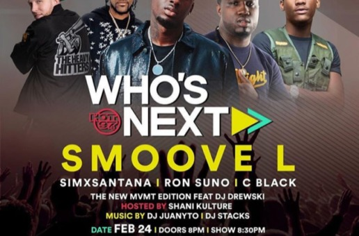 HOT 97 WHO'S NEXT SHOWCASE ft. SIMXSANTANA FEB 24th!