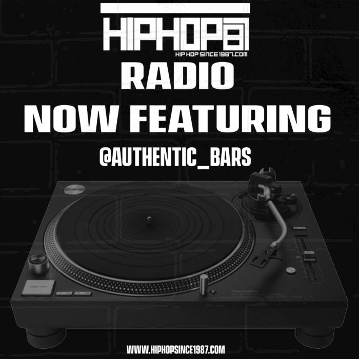 hh-AB Authentic now in rotation on HipHopSince1987 Radio!