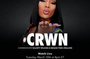 Watch Megan Thee Stallion's Live TIDAL CRWN Interview on 3/10!