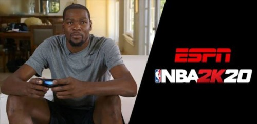 "kevin-durant-nba-2k20-espn-1-825x400-1-500x242 NBA Players Go Head-to-Head in First-Ever ""NBA 2K Players Tournament"" on ESPN and ESPN2"