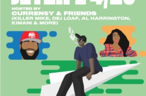 Tomorrow! One Music Fest Presents JETLIFE 4/20 w/ Curren$y & Friends!