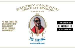 Merry Jane Announces 4/20 Smoke-In with a Live DJ Set by Snoop Dogg