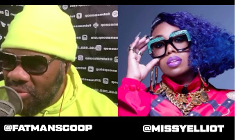 Missy Elliots Joins Fatman Scoop For His Latest IG Live Stream