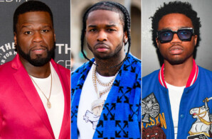 50 Cent Teases Pop Smoke & Roddy Ricch Collab!