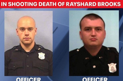 breaking news: Officer who fatally shot Rayshard Brooks charged with felony murder, aggravated assault
