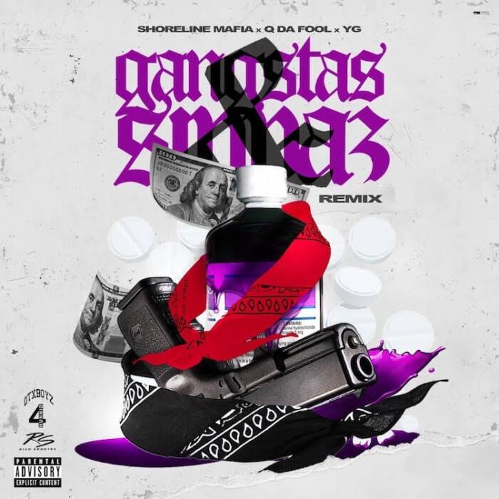 "unnamed-20 YG joins Shoreline Mafia for the ultimate LA remix of ""Gangstas & Sippas"""