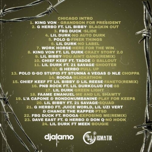 "IMG_1439-500x500 DJ ISMATIK & DJ ALAMO TEAM UP ON ""BEST OF CHIRAQ"" MIXTAPE"