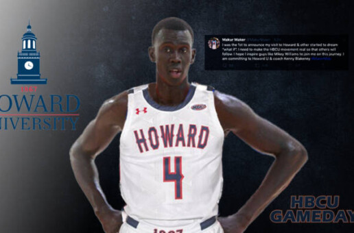 Five-star enlist Makur Maker makes a game-changing commitment to Howard University