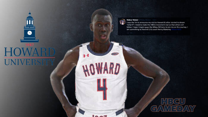 MakerHowardCommit Five-star enlist Makur Maker makes a game-changing commitment to Howard University