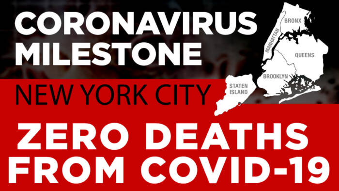 New-York-City-reports-first-day-of-zero-COVID-19-deaths New York City reports first day of zero COVID-19 deaths