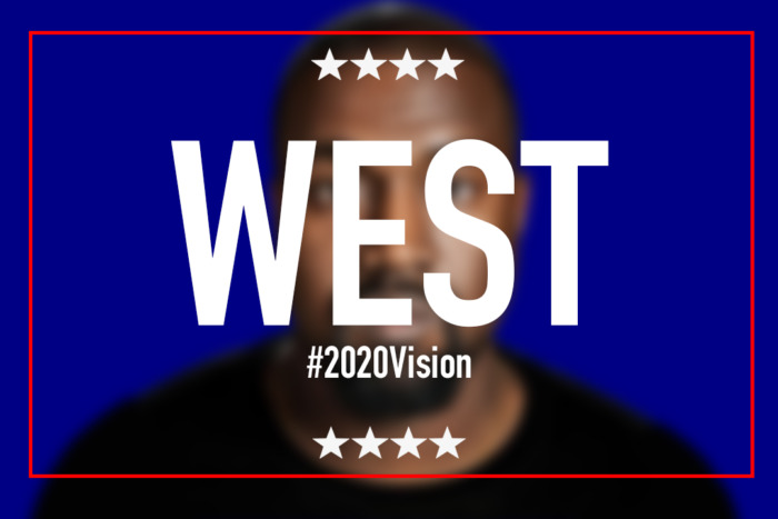 West-for-president- Kanye West announces that he will be running for President